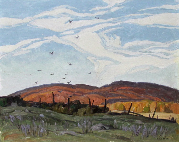 Artwork by Alfred Joseph Casson,  Late Afternoon, Letterkenny