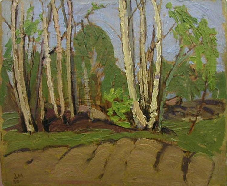 Artwork by James Edward Hervey MacDonald,  Untitled Landscape