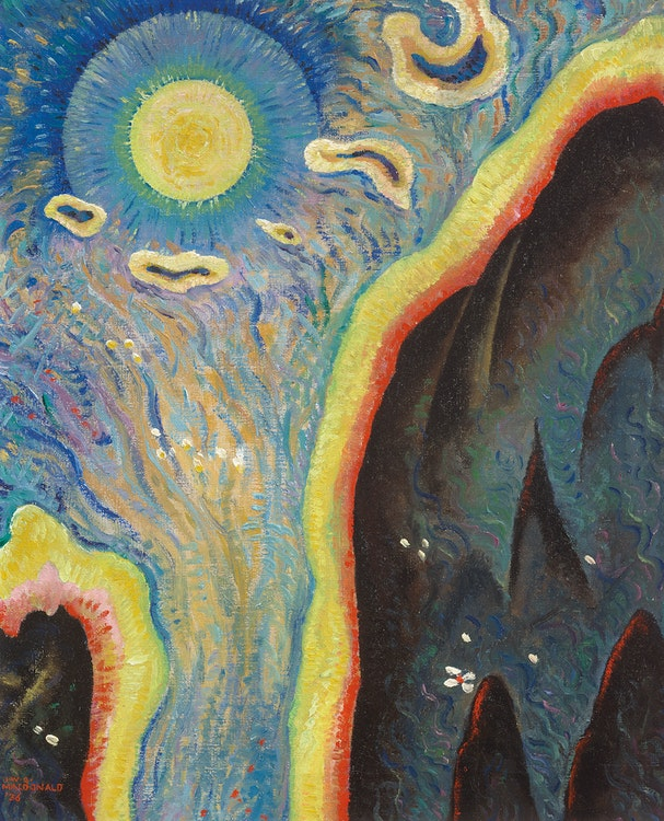 Artwork by James Williamson Galloway Macdonald,  Daybreak (Modality Series)