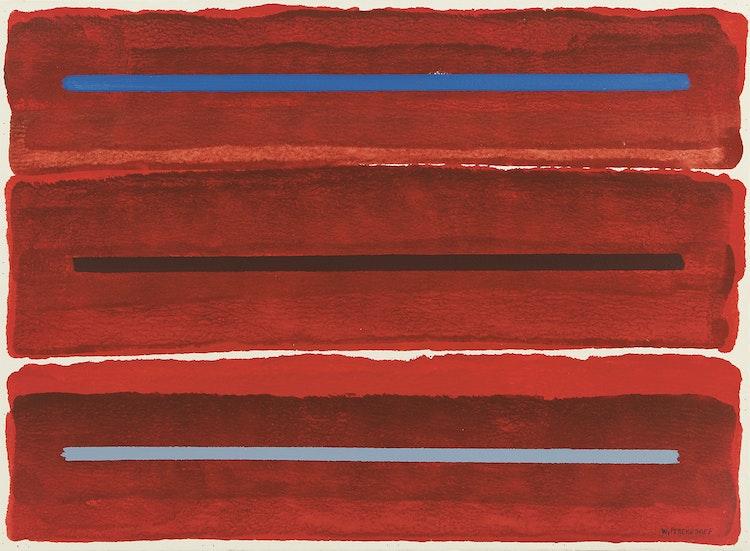 Artwork by William Perehudoff,  La Plonge #4