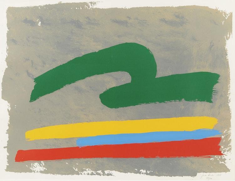 Artwork by Jack Hamilton Bush,  Green Loop