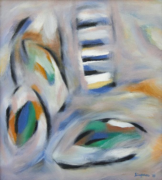 Artwork by Gregg Simpson,  Escalier