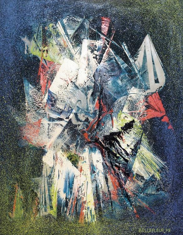 Artwork by Léon Bellefleur,  Rituel