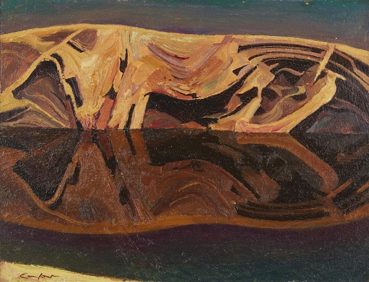 Artwork by Charles Fraser Comfort,  Rock Forms, Split Rock Island