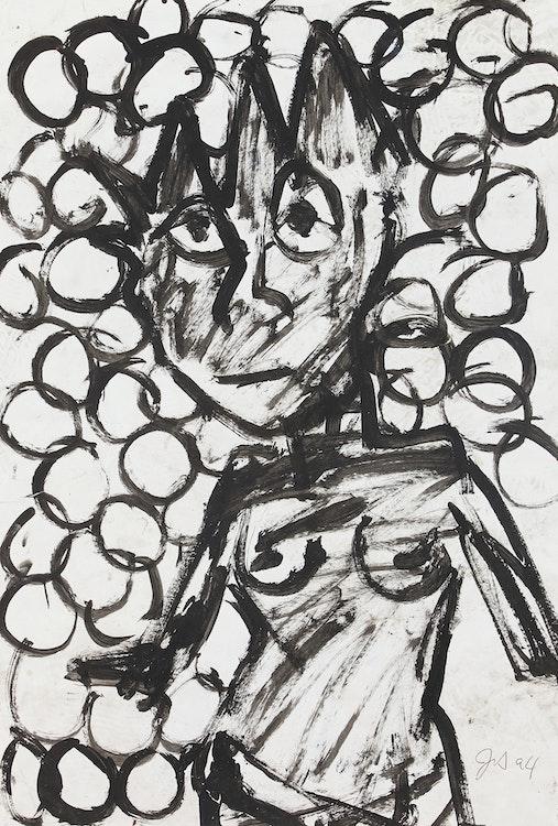 Artwork by John Scott,  Female Figure