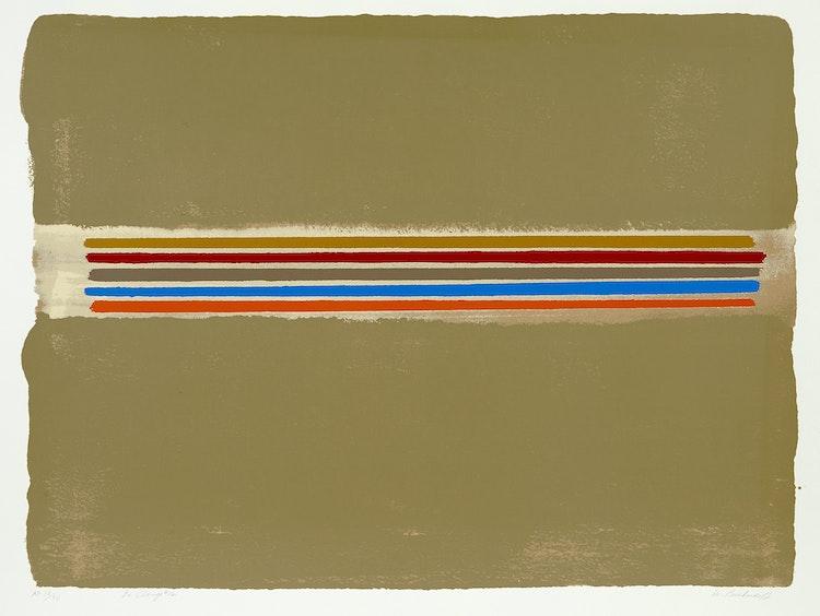 Artwork by William Perehudoff,  La Plonge #12