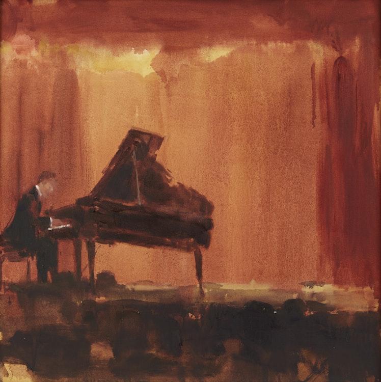 Artwork by Darlene Cole,  Magic Interior, Night