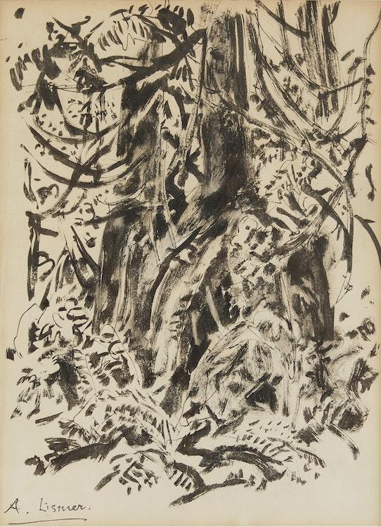 Artwork by Arthur Lismer,  Forest Interior