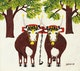 Thumbnail of Artwork by Maud Lewis,  Oxen in Winter