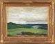 Thumbnail of Artwork by Peleg Franklin Brownell,  Summer Sky in the Gatineau