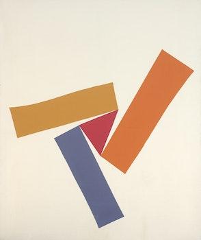 肯尼斯・坎贝尔・洛赫黑德(Kenneth Campbell Lochhead)的作品,颜色旋转