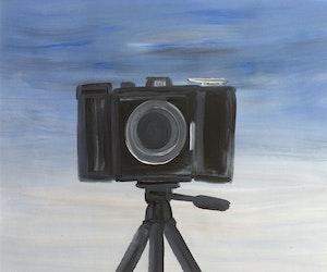 Artwork by Wanda Koop, Camera (Front Row)