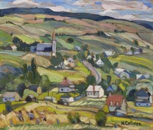 Artwork by Nora Frances Elisabeth Collyer, Coté Des Neiges