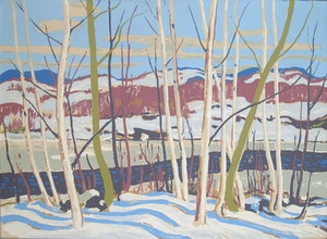 Artwork by Alexander Young Jackson, Joe Creek - After a Sketch by Tom Thomson
