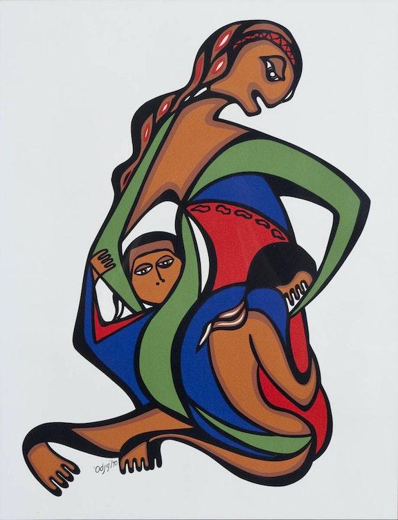Artwork by Daphne Odjig,  Untitled