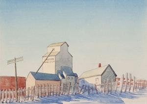Artwork by Robert N. Hurley, Western Grain Co. Ltd.