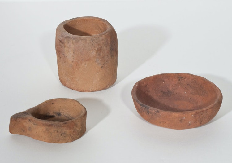Artwork by Emily Carr,  Collection of Three Klee Wyck Ceramics
