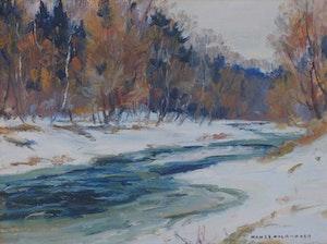 Artwork by Manly Edward MacDonald, Untitled (landscape)