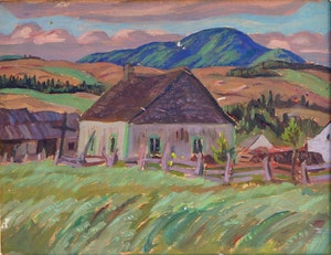 Artwork by Alexander Young Jackson, Farm Scene/Georgian Bay, Near Penetanguishene