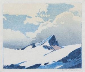 Artwork by Walter Joseph Phillips, Mount Nicholas