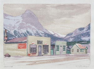 Artwork by Walter Joseph Phillips, Canmore