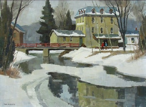 Artwork by Thomas Keith Roberts, Walkerton Mill
