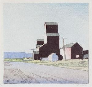 Artwork by Walter Joseph Phillips, La Rivière, MB