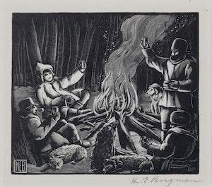 Artwork by Henry Eric Bergman, The Toast