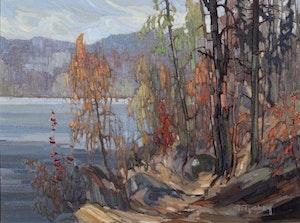 Artwork by Gaston Rebry, Fall Landscape
