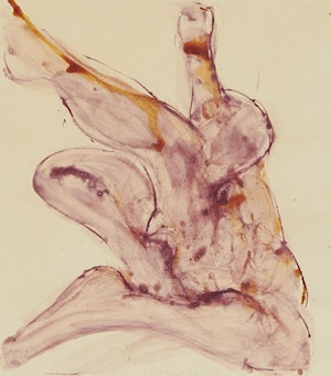 Artwork by John Graham Coughtry, Study For Two Figure Series 3