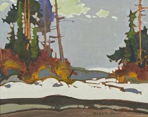 Artwork by Robert Genn, November, Montague