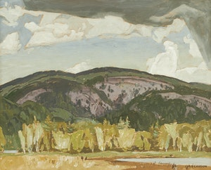 Artwork by Alfred Joseph Casson, Madawaska Valley - Palmer Rapids