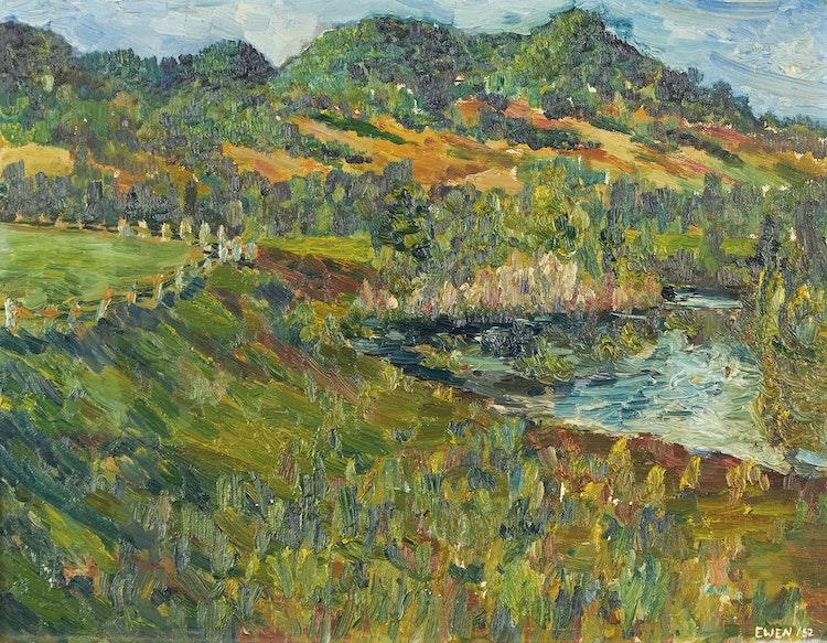 Artwork by William Paterson Ewen,  Landscape