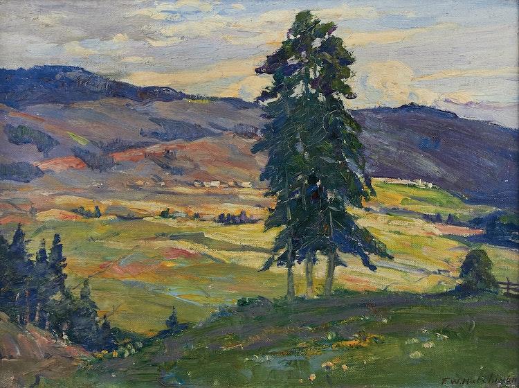 Artwork by Frederick William Hutchison,  Landscape