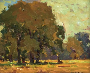 Artwork by John William Beatty, Summer Landscape