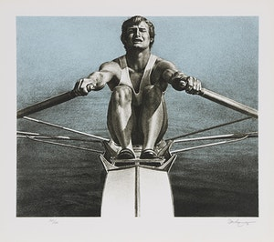 Artwork by Kenneth Danby, Olympic Serigraphs