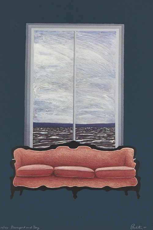 Artwork by Charles Pachter,  Davenport and Bay