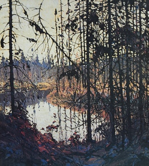 Artwork by Tom Thomson, Northern River