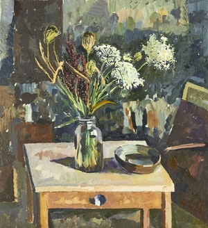 Artwork by John Anderson, Floral Still Life