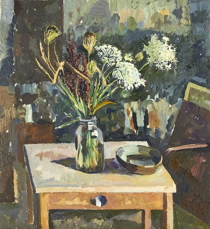 Artwork by John Anderson,  Floral Still Life