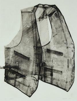 Artwork by Betty Roodish Goodwin, Vest No. 2