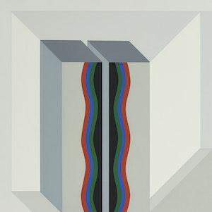 Artwork by Gordon Appelbe Smith, Divided Column