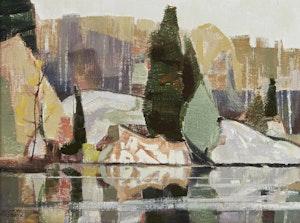 Artwork by Hilton MacDonald Hassell, Spanish River