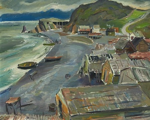 Artwork by George Douglas Pepper, Norman's Cove, Newfoundland