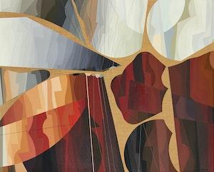 Artwork by Jean-Paul Jérôme, Arcane sonore