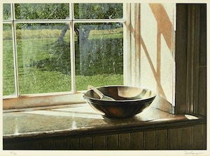 Artwork by Kenneth Danby, The Butterbowl