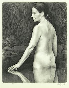 Artwork by Kenneth Danby, The Spirit Seeker