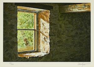 Artwork by Kenneth Danby, Mill Window