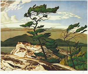 Artwork by Alfred Joseph Casson, Ontario: A Complete Set of 30 Prints