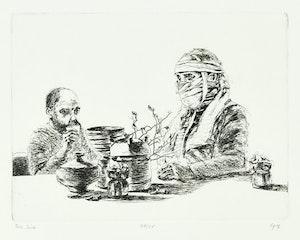 Artwork by Ivan Kenneth Eyre, Tea Time